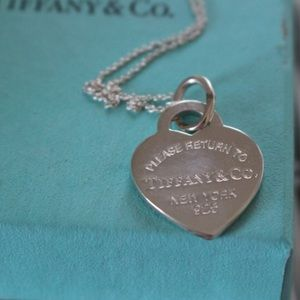 Brand New Tiffany & Co. Heart Pendant Necklace